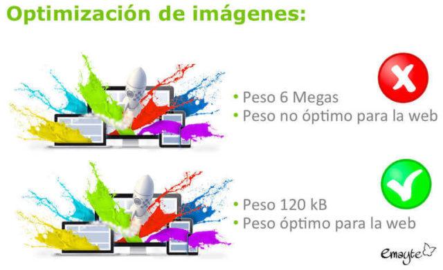 Optimiza tus imágenes