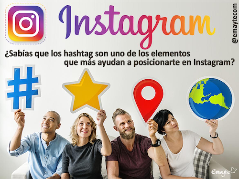 ¿Sabías que los hashtag son uno de los elementos que más ayudan a posicionarte en Instagram?