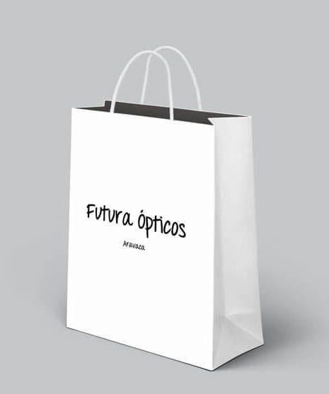 Bag-bolsa-Futura-ópticos-madrid-identidad-corporativa-emaytecom