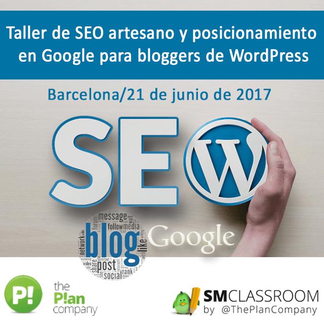 Social-art-Taller-de-SEO-artesano-y-posicionamiento-en-Google-para-bloggers-de-WordPress-pedro-rojas-smclassroom-emayte