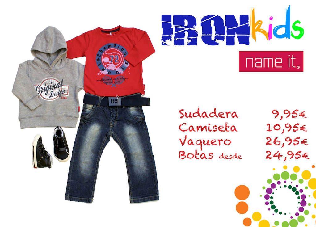 cartel-precios-iron-kids-desigual-diseño-gráfico-emaytecom